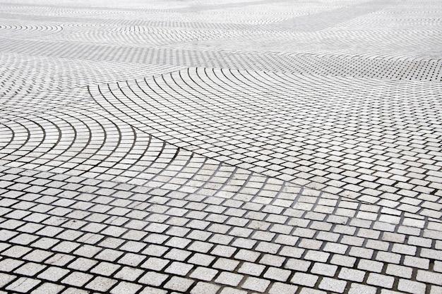 Dalles de pavage, carreaux de pavage à motifs, fond de plancher en brique de ciment