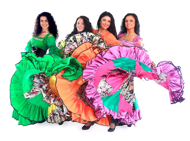 Dancing Roma. Photo Premium