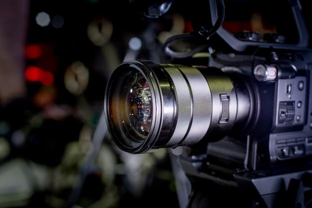 Dans les coulisses des caméras vidéo professionnelles de production vidéo
