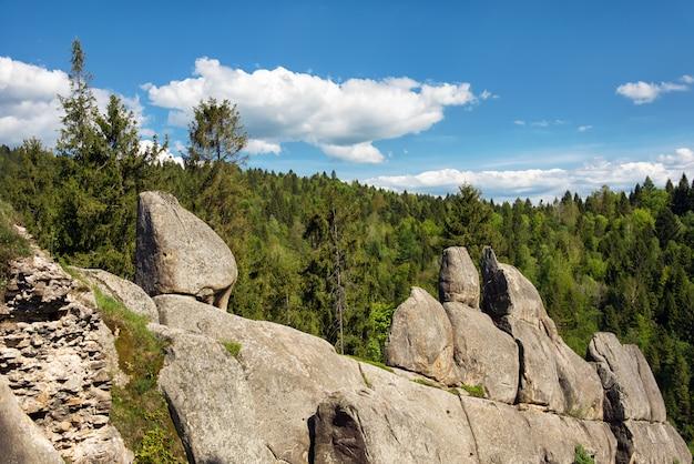 Dans les montagnes. carpates, ukraine