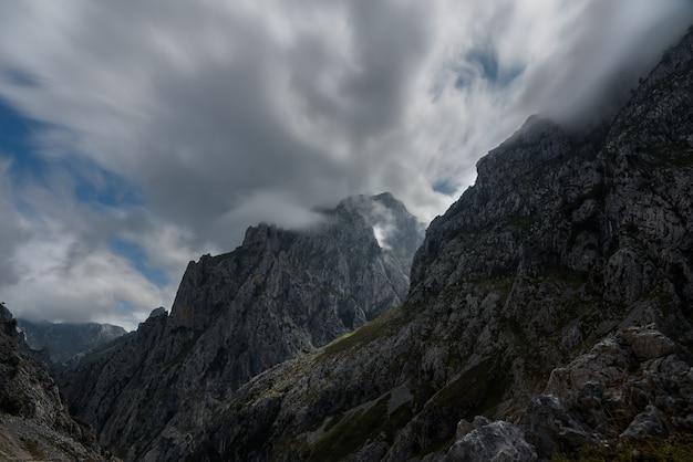 Dans les montagnes