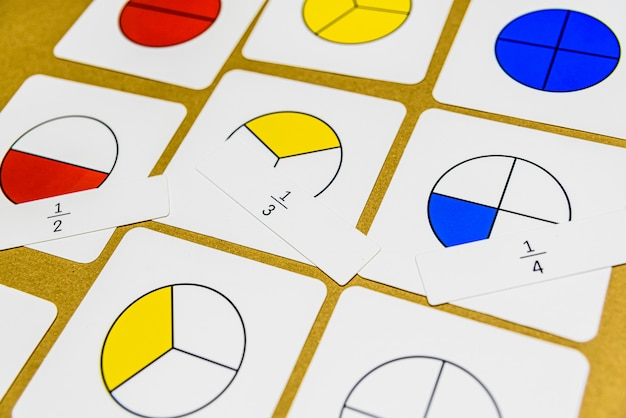 Dans la pédagogie montessori, les mathématiques peuvent être enseignées de diverses manières en classe.
