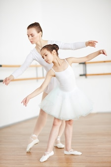 Danser avec l'enseignant