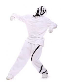 Danseur de hip hop en danse