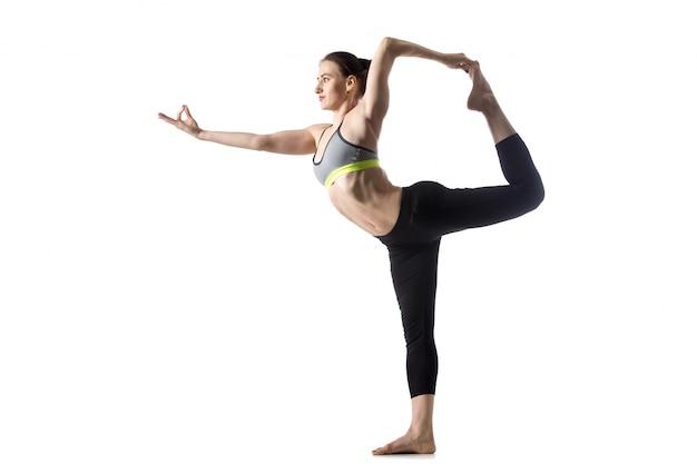 La danseuse pose