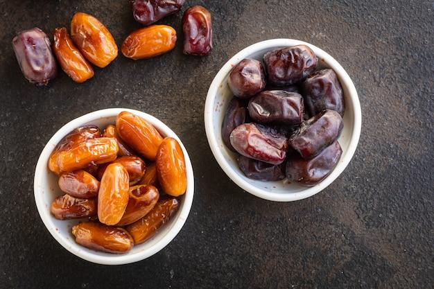 Date fruit doux fruits secs savoureux collation saine céto ou régime paléo