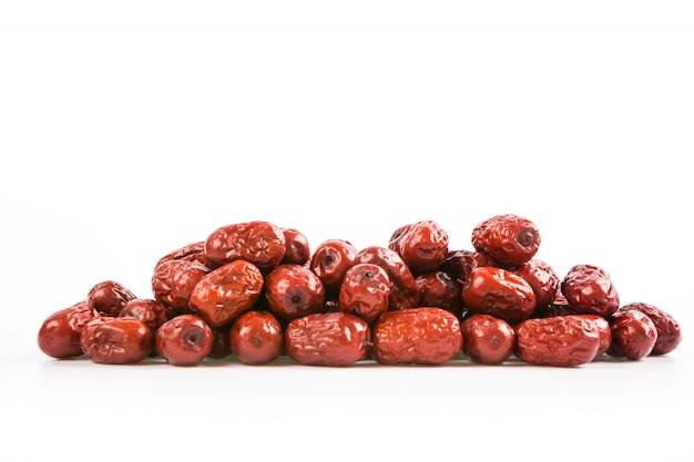 Dates rouges pile