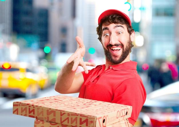 Dealer Fou Surpris Expression Photo gratuit