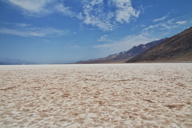 Death valley en californie, états-unis