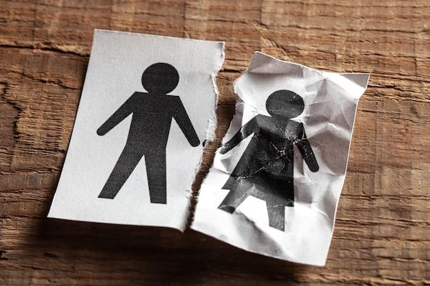 Le décès du conjoint concept de décès de la femme de vieillesse ou de maladie