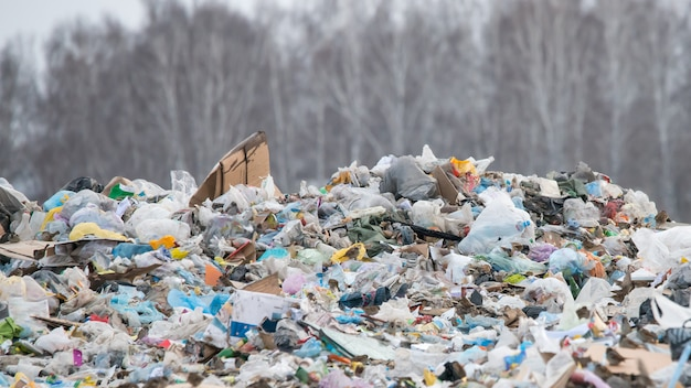 Décharger les ordures