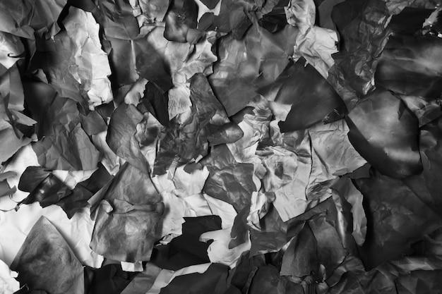 Déchiré papier de couleur, texture, fond