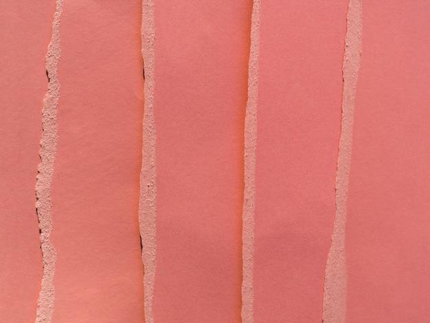 Déchirures de papier coloré vertical