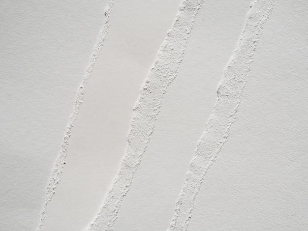 Déchirures de papier monochromes