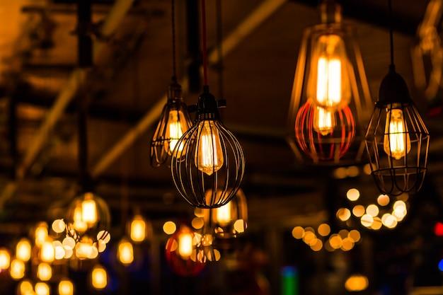 Décor d'ampoule rétro edison