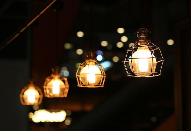 Décor d'éclairage vintage