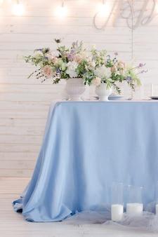Décor floristique de mariage