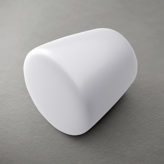 Décor à la maison de pot en céramique blanche