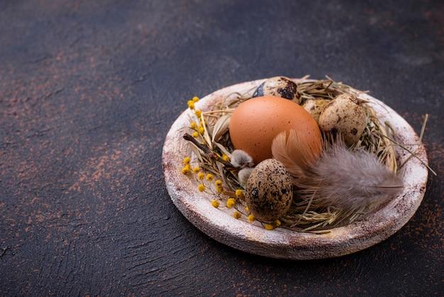 Décor de pâques écologique zéro déchet