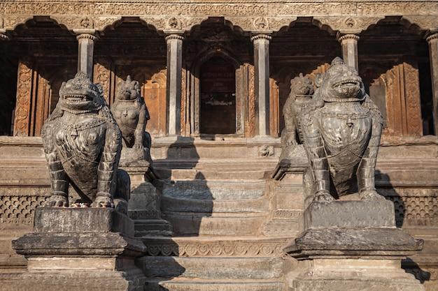 Décor de temple hindou