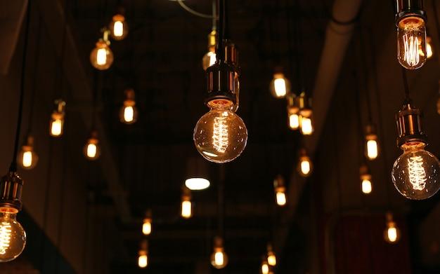 Décor vintage lighting