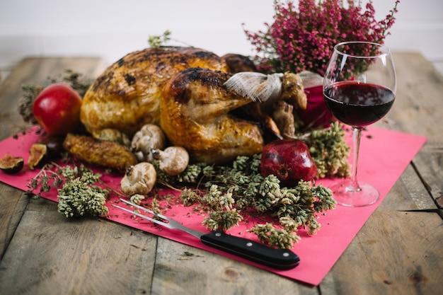 Décoration de dinde de thanksgiving