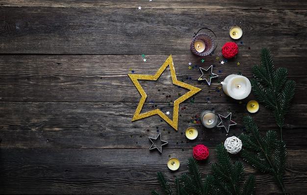 Décoration festive de noël