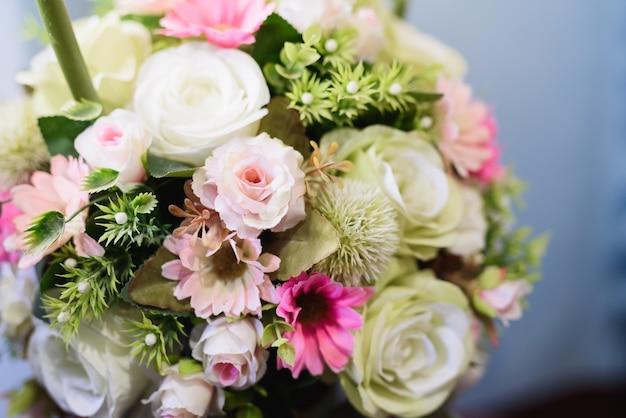 Décoration de fleurs de mariage