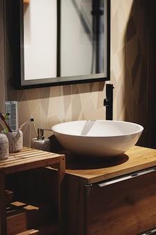 Décoration d'intérieur et design d'intérieur dans des meubles et des détails de maison ou d'appartement modernes