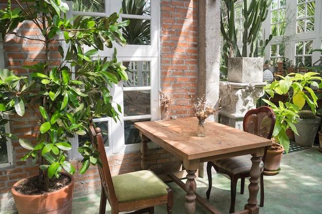 Décoration d'intérieur vert eco style écologique
