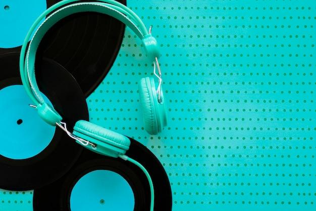 Décoration de musique turquoise