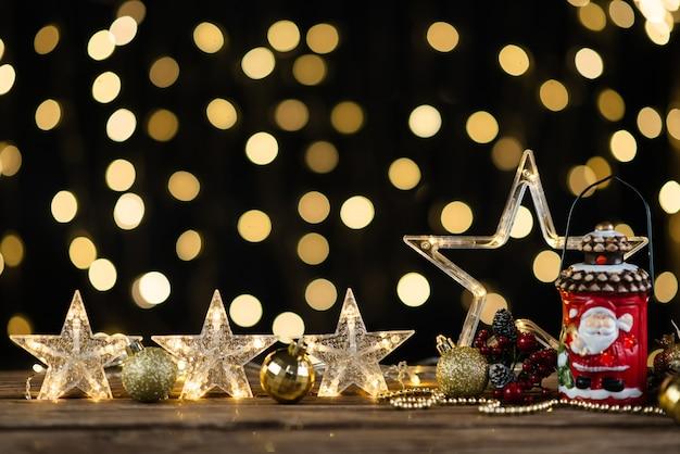 Décoration de nouvel an, gros plan