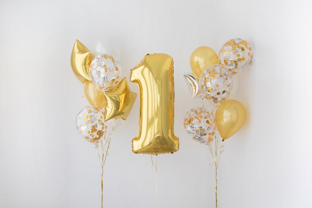 Décoration pour l'anniversaire d'un an