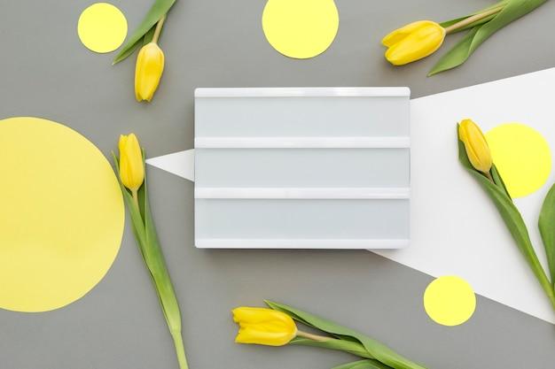 Décoration de printemps, journée de la femme, concept de fête des mères