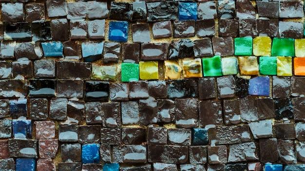 Décoration de surface. pierre, marbre, granit, fond de béton. mur.