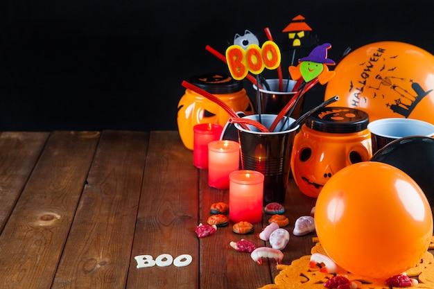 Décorations de fête de halloween
