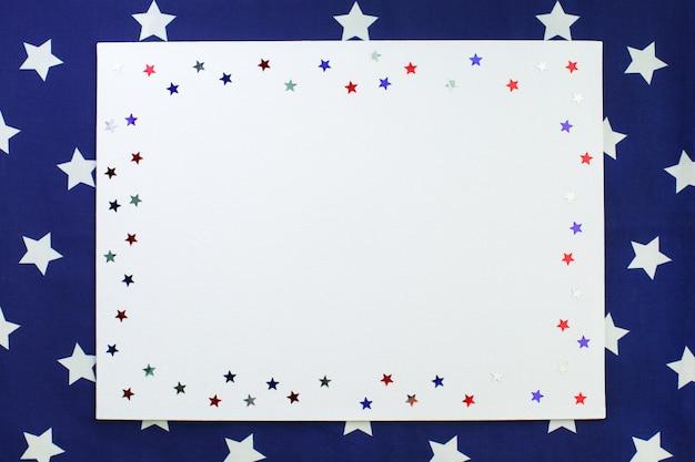 Décorations de la fête de l'indépendance américaine du 4 juillet.