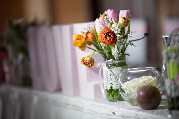 Décorations florales de mariage