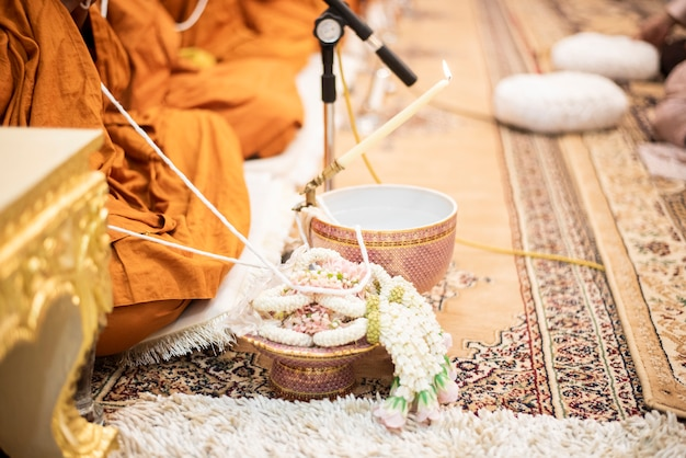 Décorations de mariage thaï