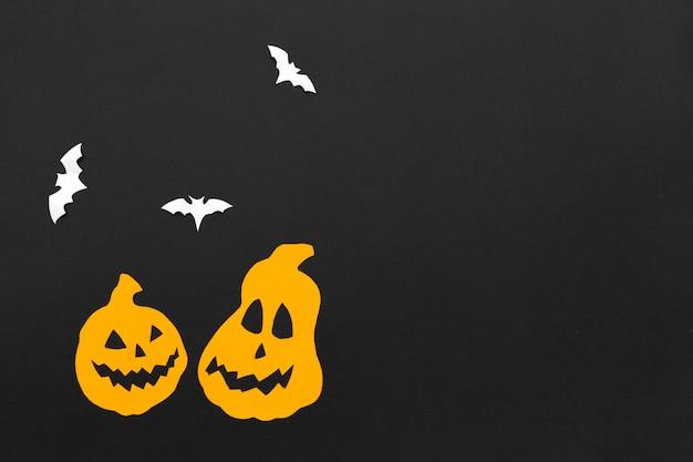 Décorations pour la fête d'halloween.