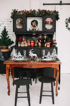 Décorations pour la maison du nouvel an et de noël