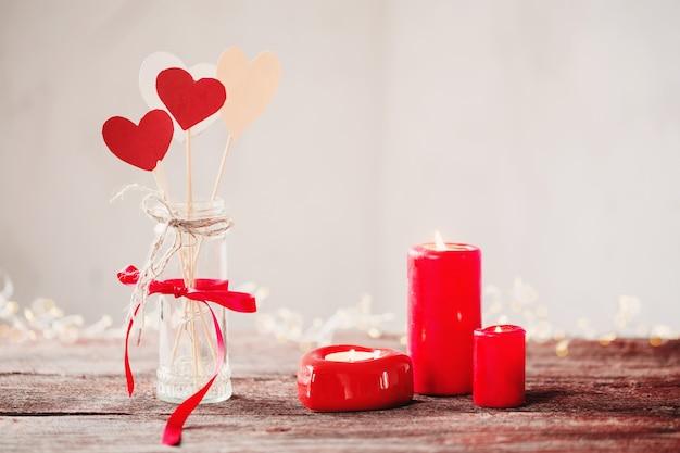Décorations pour la saint valentin