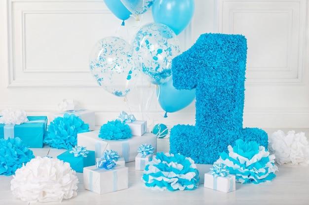 Décoré numéro 1 pour un anniversaire