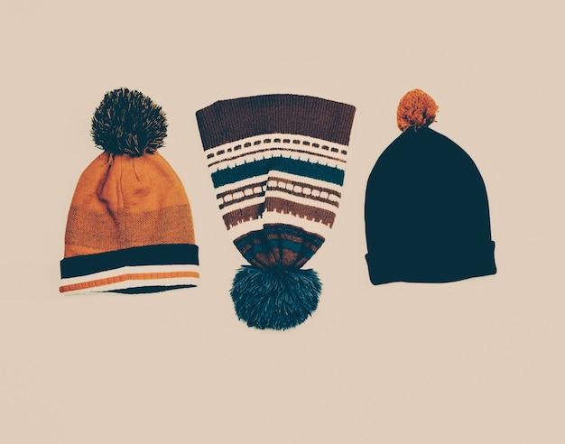 Définir l'ornement et la bande de casquettes vintage sports