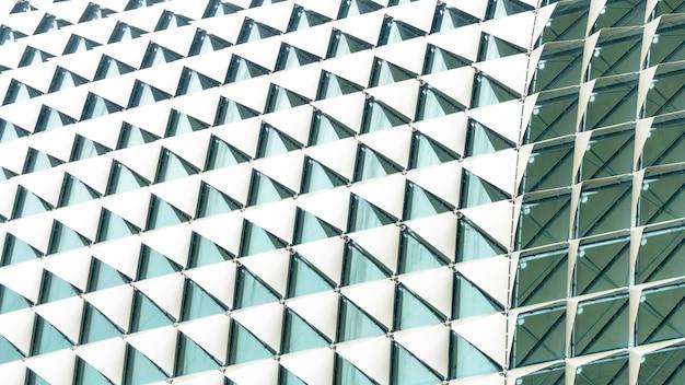 Dégradé blanc motif abstrait triangle plié