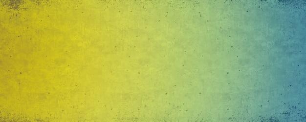 Dégradé du vert au fond coloré texturé jaune