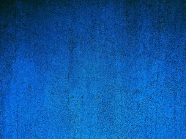 Dégradé de fond abstrait mur bleu.