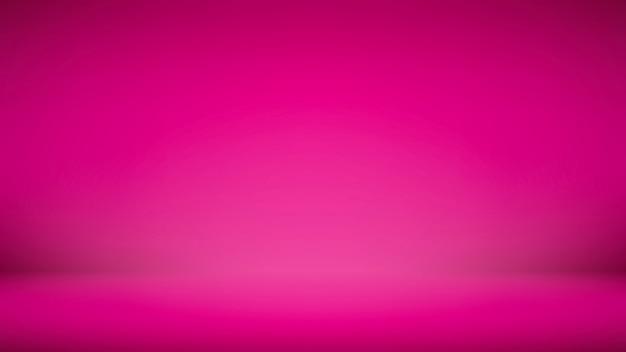 Dégradé lumineux choquant fond d'affichage abstrait rose