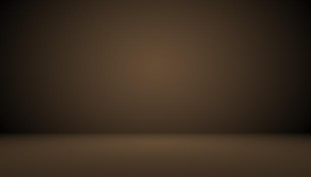 Dégradé marron abstrait bien utilisé comme arrière-plan pour l'affichage du produit