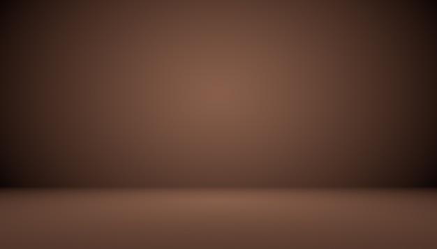 Dégradé marron abstrait bien utilisé comme arrière-plan pour l'affichage du produit.